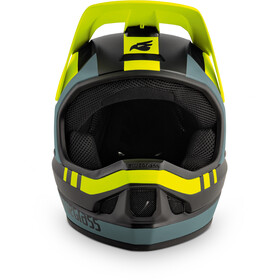bluegrass Legit Helm black/fluo yellow/gray